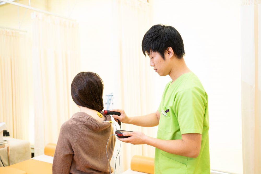 肩こりの治療方法|石巻市