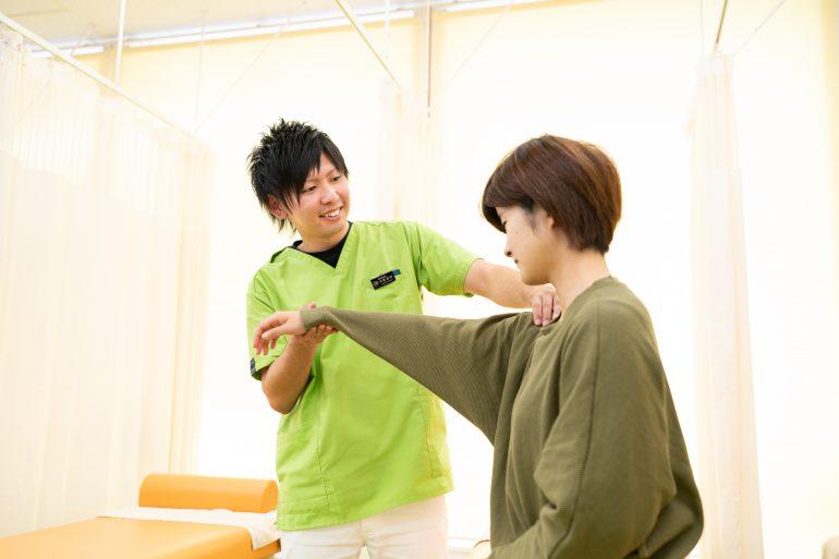 肩の検査|石巻市